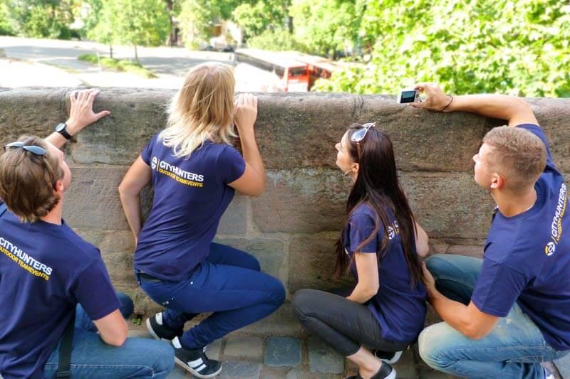 Agenten Rallye als Teambuilding in Bayreuth