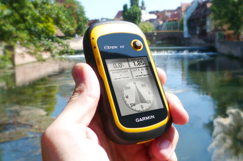 Geocaching als Teamevent in Dresden