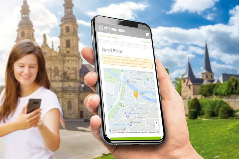 Smartphone Schatzsuche als Teamevent