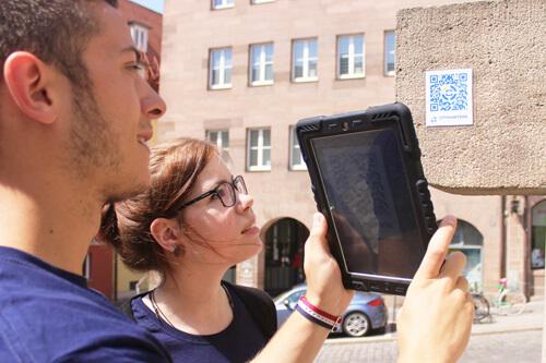 iPad Rallye Schnitzeljagd