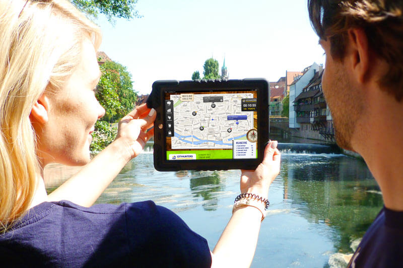 iPad Rallye als Teambuilding in Ulm