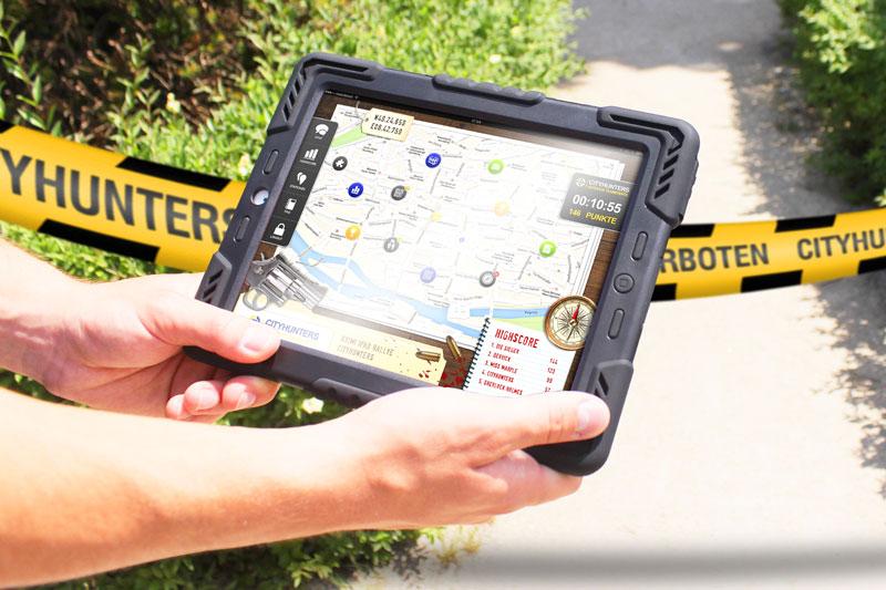Krimi iPad-Rallye als Teambuilding in Dresden