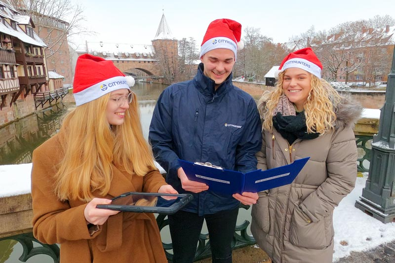 X-Mas iPad Rallye als Teambuilding in Mainz